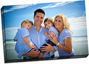 wallsthatspeak Personalized Photo to Canvas Wall Art - Put Your own Picture on a Canvas – 36x24 inches
