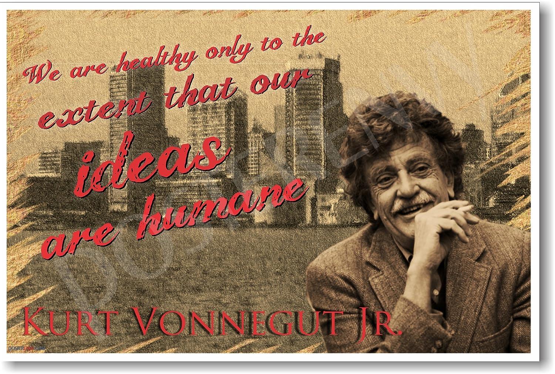 Amazon.com: Ideas Are Humane - Kurt Vonnegut - NEW Famous Person ...
