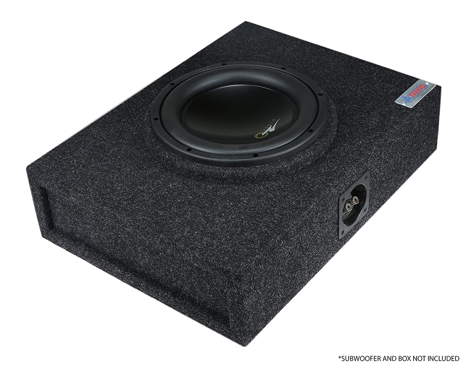 Atrend Universal MDF Constructed Spacer for 10 Inch Sub Boxes Adds 3//4 to Decrease Woofer Depth S10