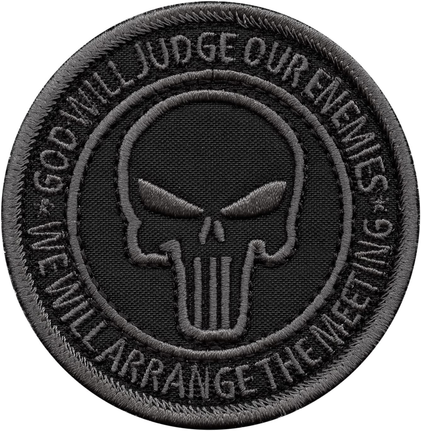 2AFTER1 God Will Judge Our Enemies ACU Subdued US Navy Seals DEVGRU NSWDG Morale Touch Fastener Patch