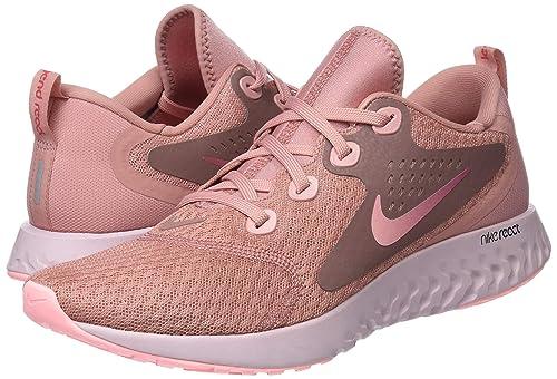 Amazon.com   Nike Womens WMNS Legend React Low-Top Sneakers, Pink, 8.5 UK   Fashion Sneakers