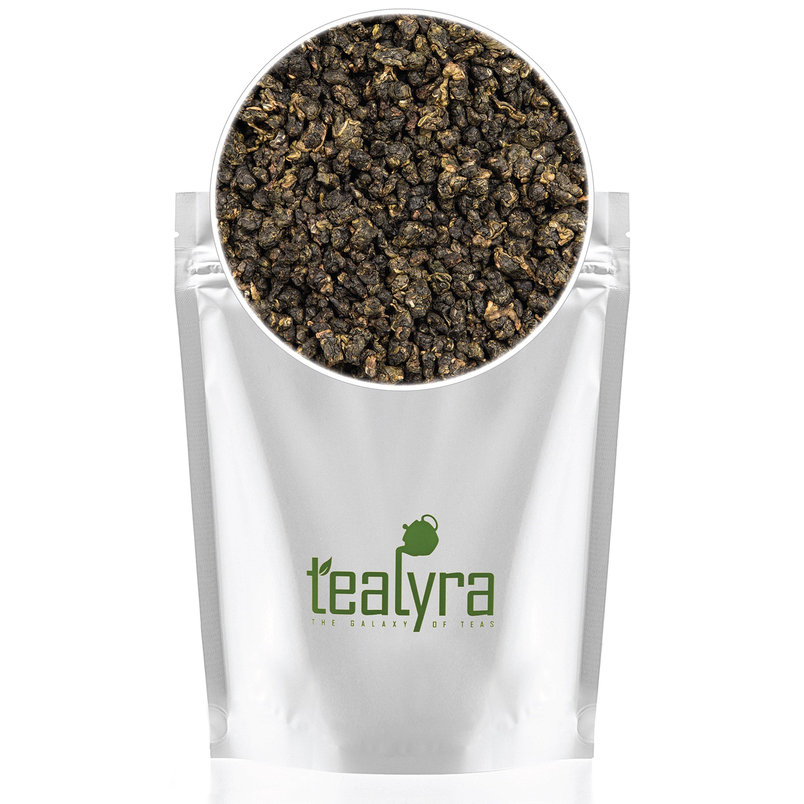 Tealyra - Milk Jin Xuan Oolong - High Mountain Taiwanese Loose Leaf Tea - Great Milky Cream Taste and Aroma - Organically Grown - Weight Loss Tea - 200g (7-ounce) by Tealyra (Image #6)