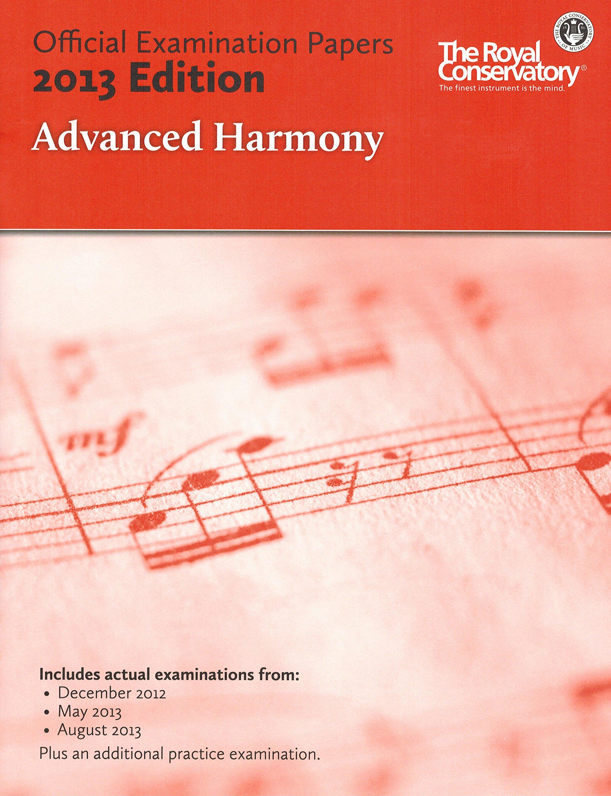 Read Online EX1307 - Official Examination Papers: Advanced Harmony 2013 Edition pdf epub