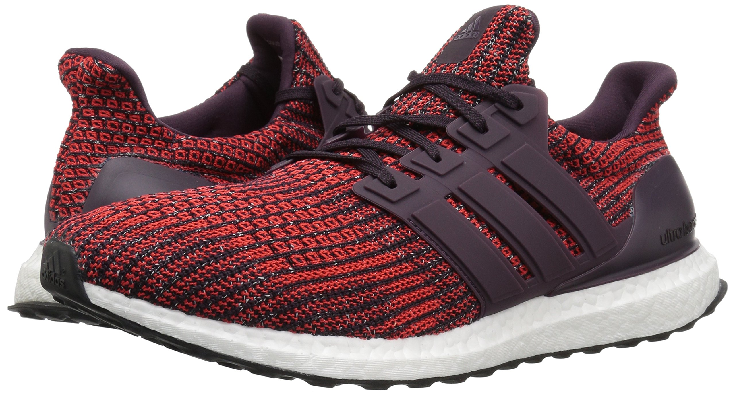 adidas Men's Ultraboost Road Running Shoe, Noble Red/Noble Red/Core Black, 5 M US by adidas (Image #6)