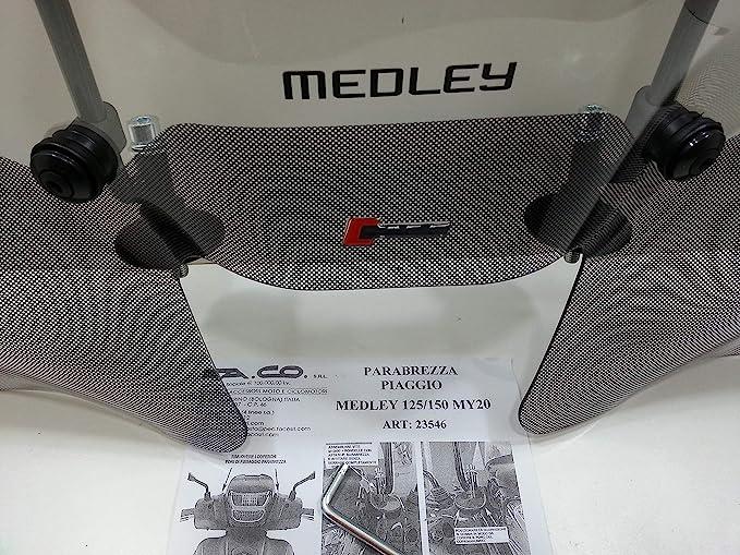 Windschutzscheibe Piaggio Medley 125 150 Cc Ab Baujahr 2020 Artikelnummer 23546 Auto