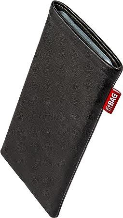fitBAG Retro Braun Handytasche Tasche aus Cord-Stoff mit Microfaserinnenfutter f/ür Samsung Galaxy S20+ H/ülle mit Reinigungsfunktion Made in Germany S20 Plus