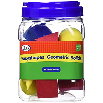 Didax Educational Resources 2-501 Easyshapes Geometric Solids Set: Toys & Games