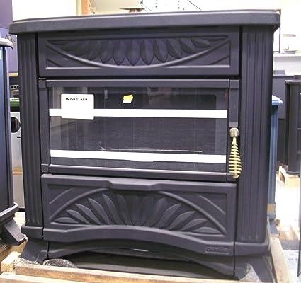 Estufa de gasoil con revestimiento de hierro fundido y potencia de 9,3 kW