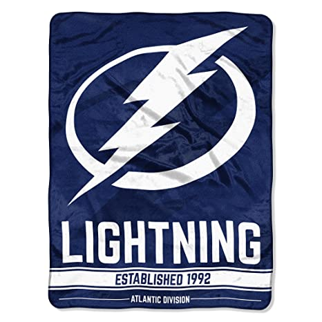 The Northwest Company Officially Licensed NHL Tampa Bay Lightning Break Away  Micro Raschel Throw Blanket 7bfb44071