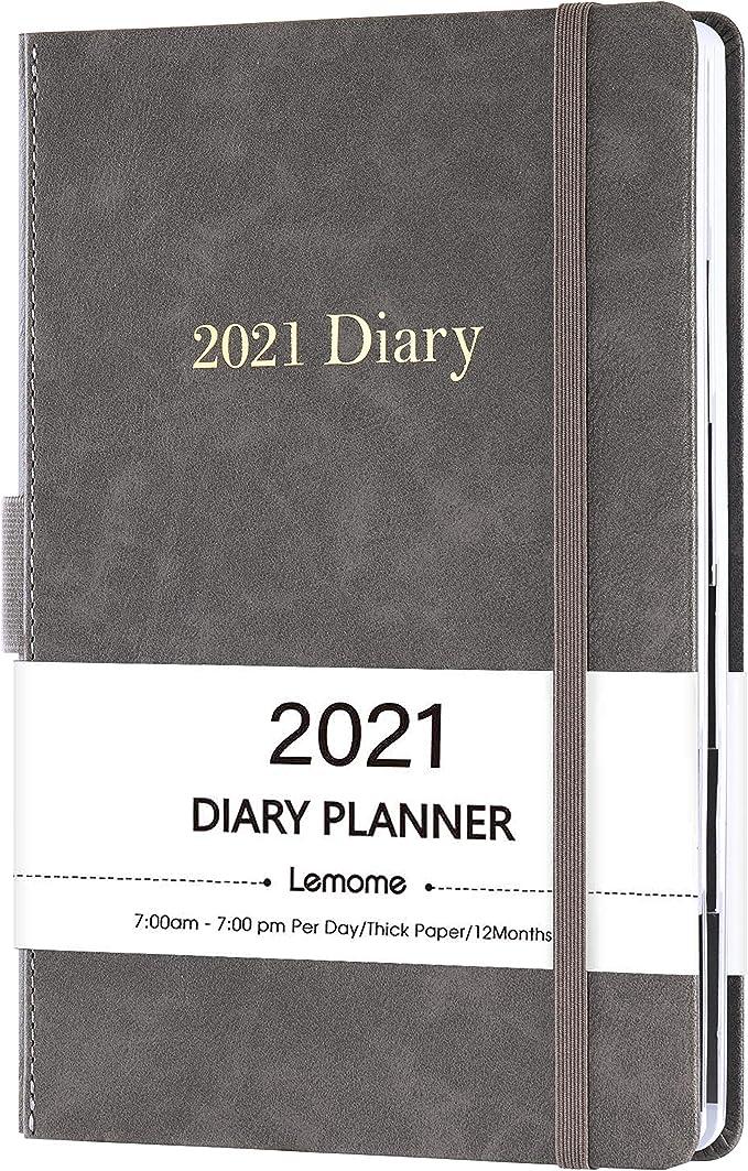 Sailor Moon 2021 Planner Diary book A6 Monthly calendar Memo notebook white #804