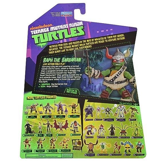 eenage Mutant Ninja Turtles Raph The Barbarian Action Figure ...
