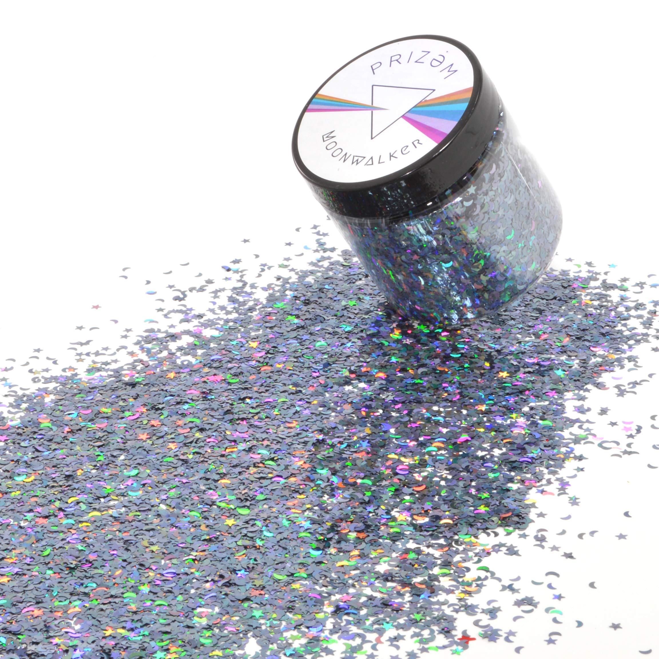 Moonwalker Glitter ▽ 60g ▽ Festival Glitter , Chunky Glitter , Makeup Glitter , Face Glitter , Body Glitter , Glitter Makeup , Hair Glitter , Cosmetic Glitter , Nail Glitter , Eyeshadow Glitter