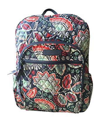 880559017694 Image Unavailable. Image not available for. Color  Vera Bradley Campus  Backpack (Nomadic Floral with Grey Interior)