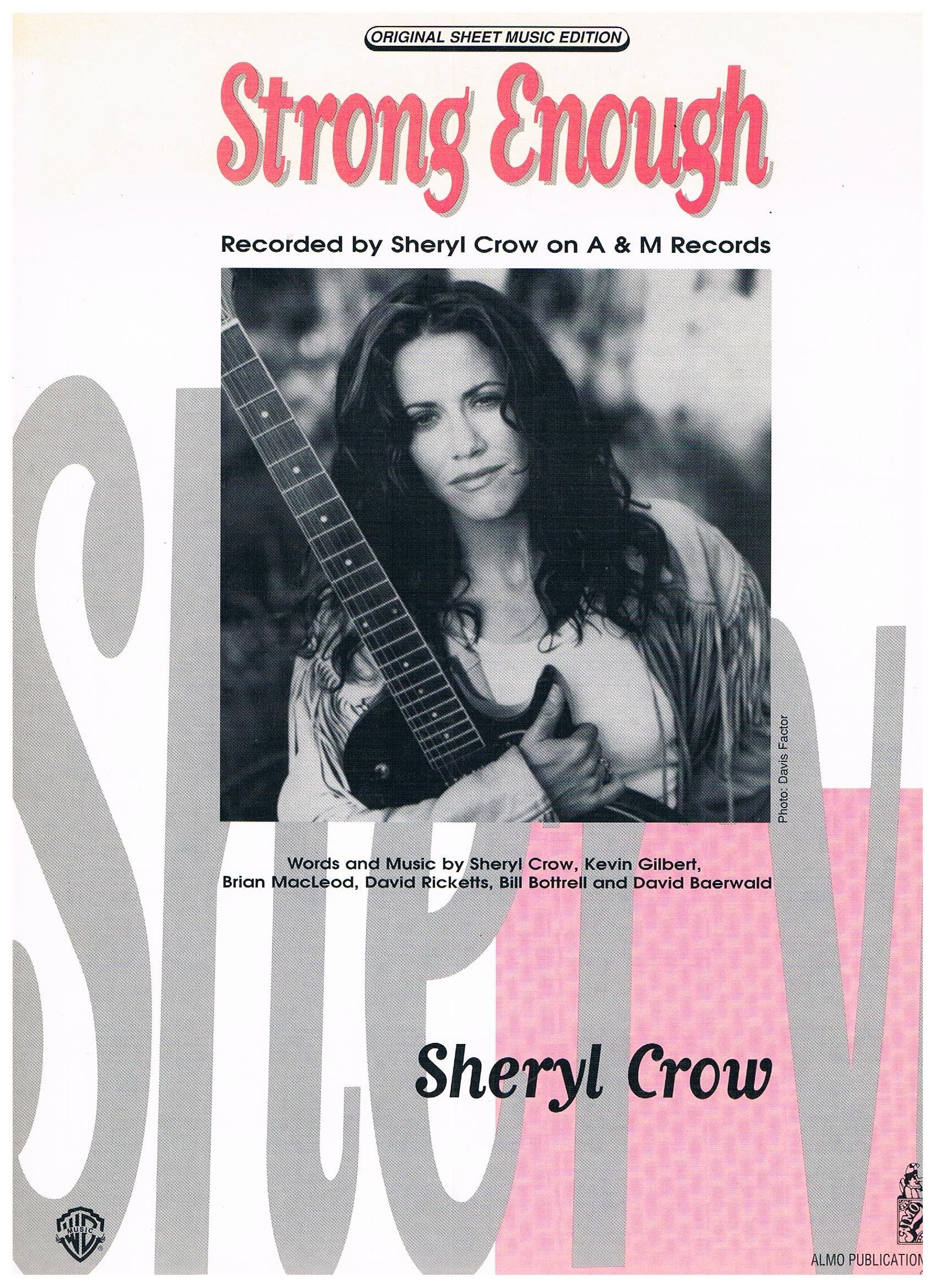 Amazon Strong Enough Recorded By Sheryl Crow Piano Vocal