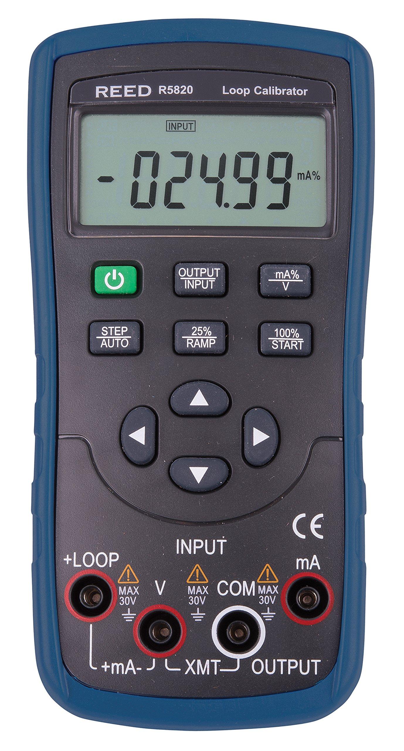 REED Instruments R5820 (VC05) Loop Calibrator