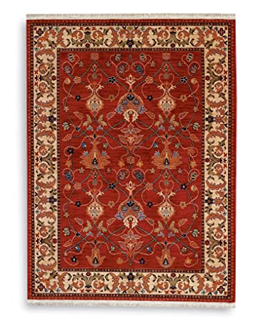 English Manor William Morris Red Rug Rug Size: 8u0027 X ...