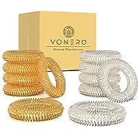 VONERO® Premium acupressuurring [set van 12] - Verbeterd concept 2020 - vinger massage ring - acupressuur ringen…
