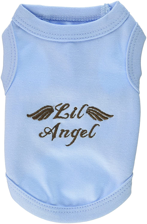 Parisian Pet Lil Angel Dog T-Shirt, XX-Small, bluee