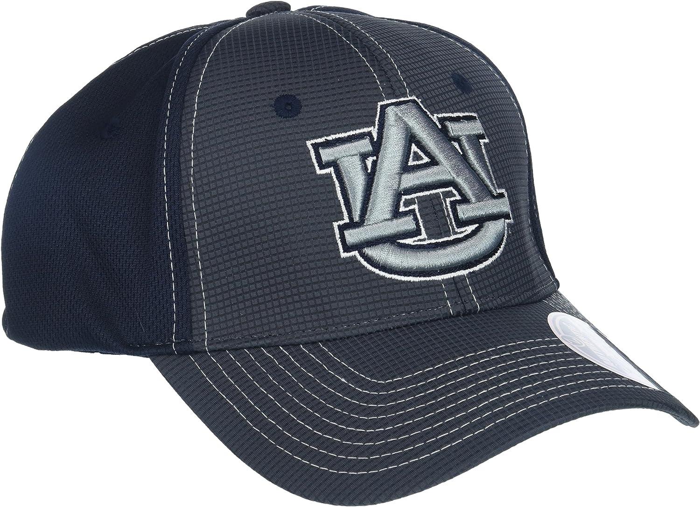 X-Large NCAA Zephyr Wake Forest Demon Deacons Mens Grid Hat Gray//Team Color