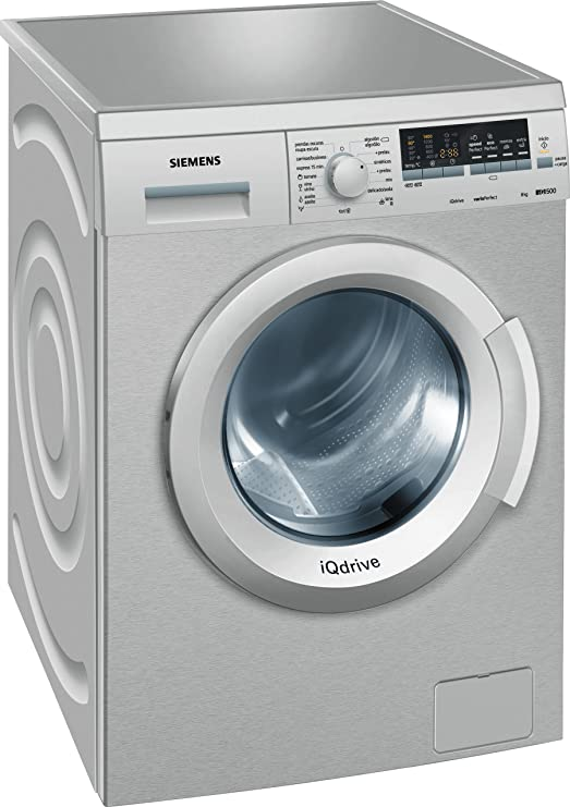 Siemens WM14Q48XES - Lavadora De Carga Frontal Wm14Q48Xes De 8 Kg ...