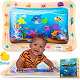 Inflatable Water Play Mat for Tummy Time, Baby water mat Infants & Toddlers Toys for Infant Early Development baby toys…