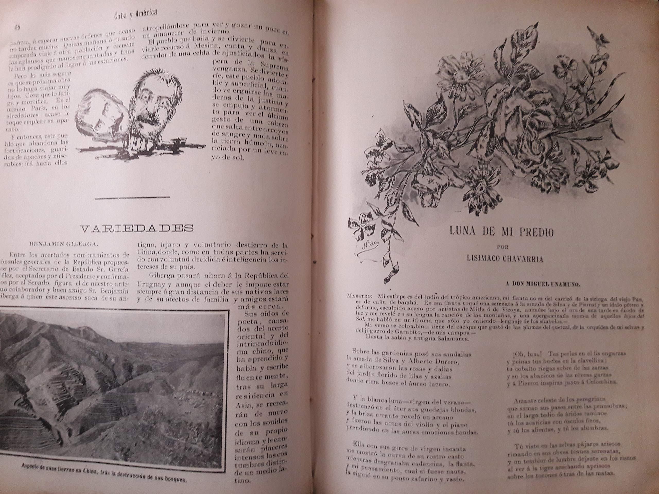 Cuba y america revista mensual ilustrada.de febrero de 1909 ...