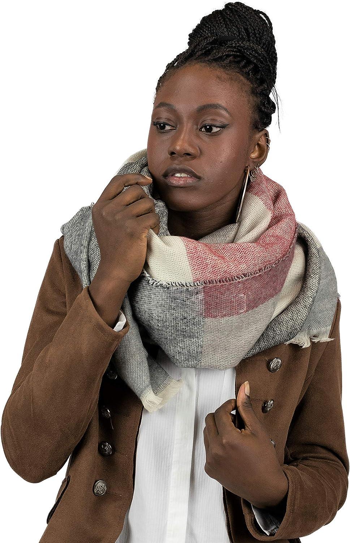 Mer's Style - Bufanda Fular Invierno, para Mujer