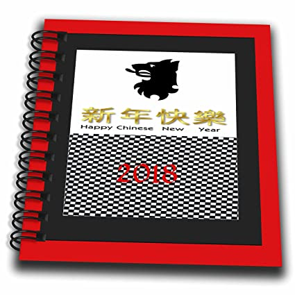 3drose chinese new year image of dramatic border black and white checkerboard new year