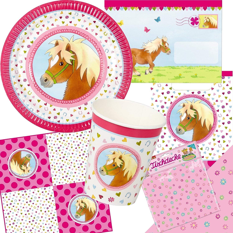 Mein Pony Hofmeister 20/Servilletas Cumplea/ños para ni/ños o fiesta tem/ática////Napkins Ni/ños Cumplea/ños Jinete Caballo Pony Fiesta tem/ática