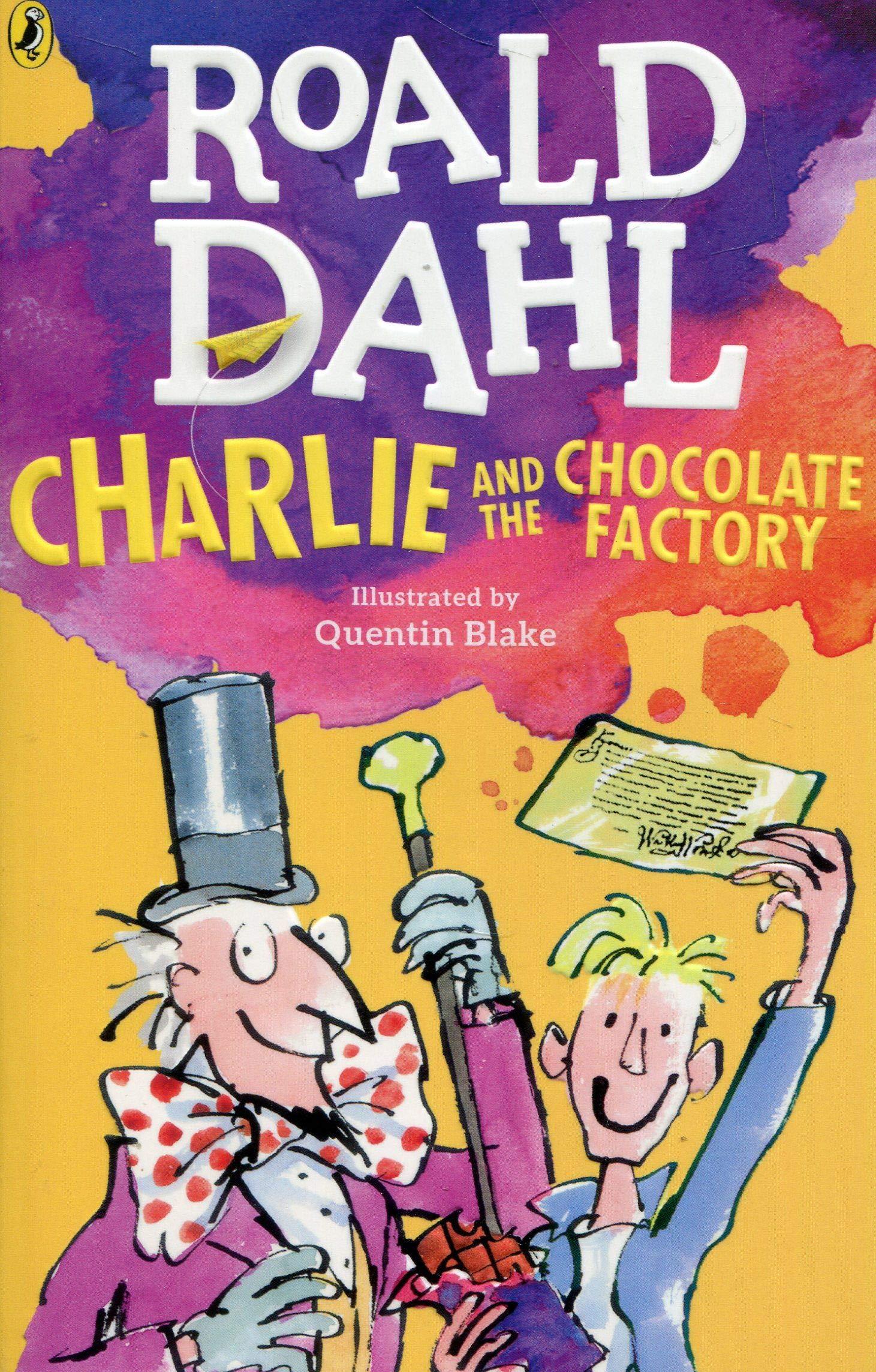 Resultado de imagen para charlie and the chocolate factory book