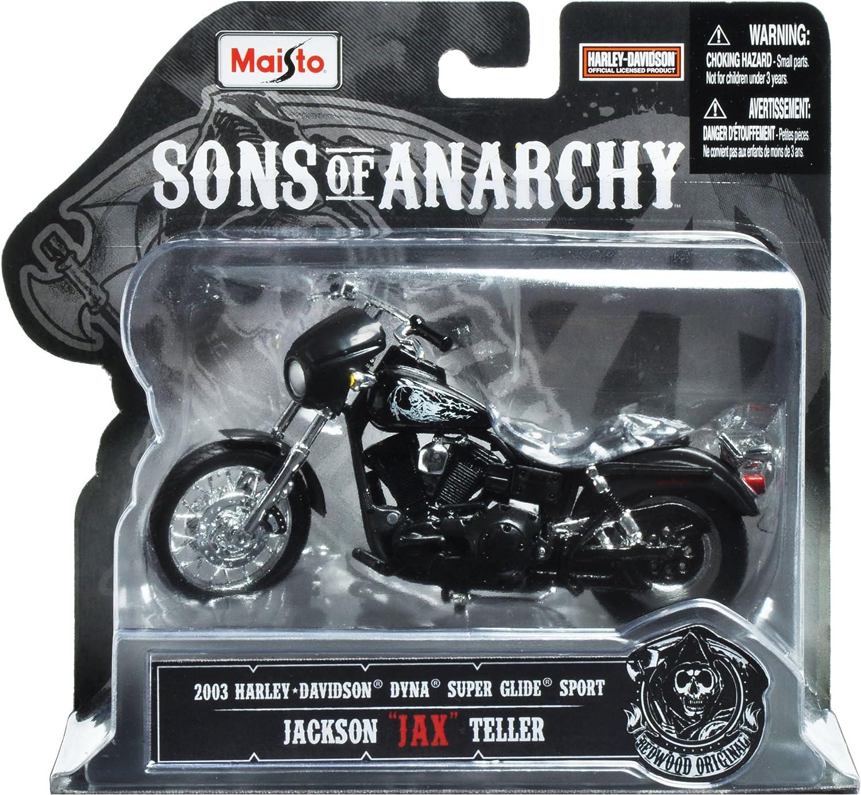 Motocicleta Sons Of Anarchy 2003 Harley Davidson DYNA Super Glyde Sport Harry