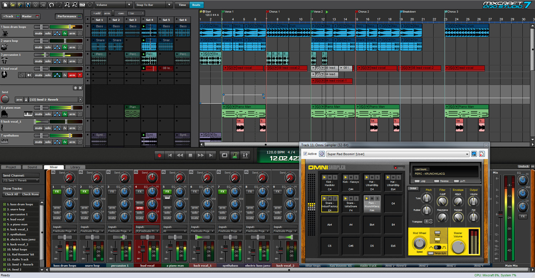 Music Sampler (Mixcraft Pro Studio 7 [Download])