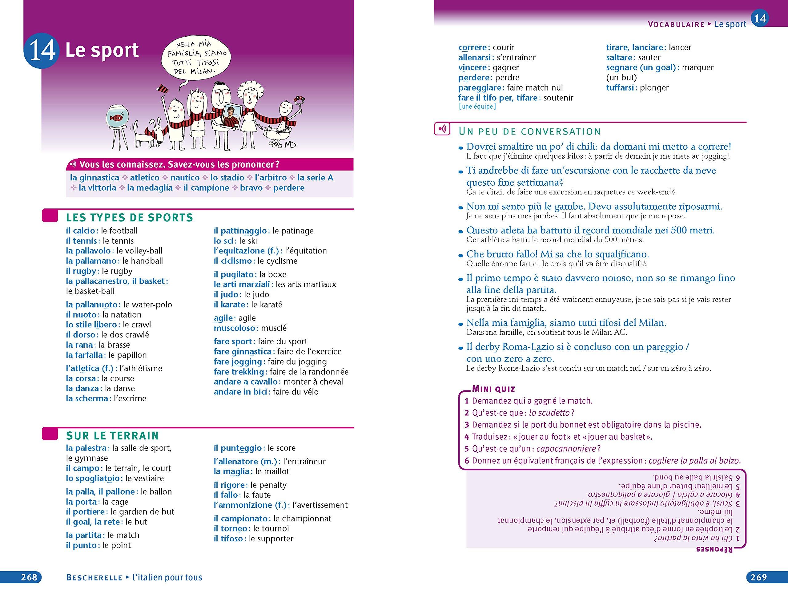 Amazon Fr Bescherelle L Italien Pour Tous Grammaire Vocabulaire Conjugaison Chionne Iris El Ghaoui Lisa Livres