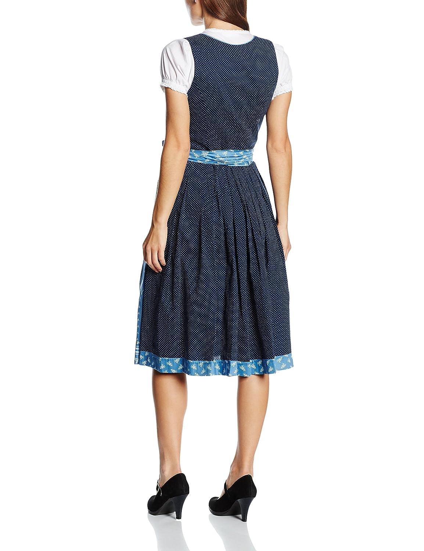 Trachten Stoiber Women's 116244-7 Dirndl, Blue-Blau (Dunkelblau), 44 (EU):  Amazon.co.uk: Clothing