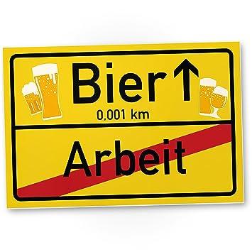 Bier   Arbeit Schild, Lustige Geschenkidee Geburtstagsgeschenk Für Den  Besten Freund, Büro Kollegen Oder
