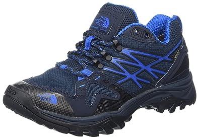 The North Face M Hedgehg FP GTX(EU), Chaussures de Randonnée Basses Homme, Gris (Sedonasggry/Citronellegrn Anth), 43 EU