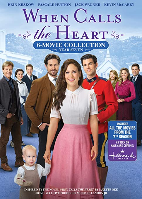 DVD When Calls the Heart Hope Valley Christmas Collection