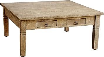 Amazon Com Casual Elements Sedona Square Coffee Table Rustic