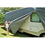 Housse pour camping-car, fourgon avec capucine de 5.1m à 5.5m