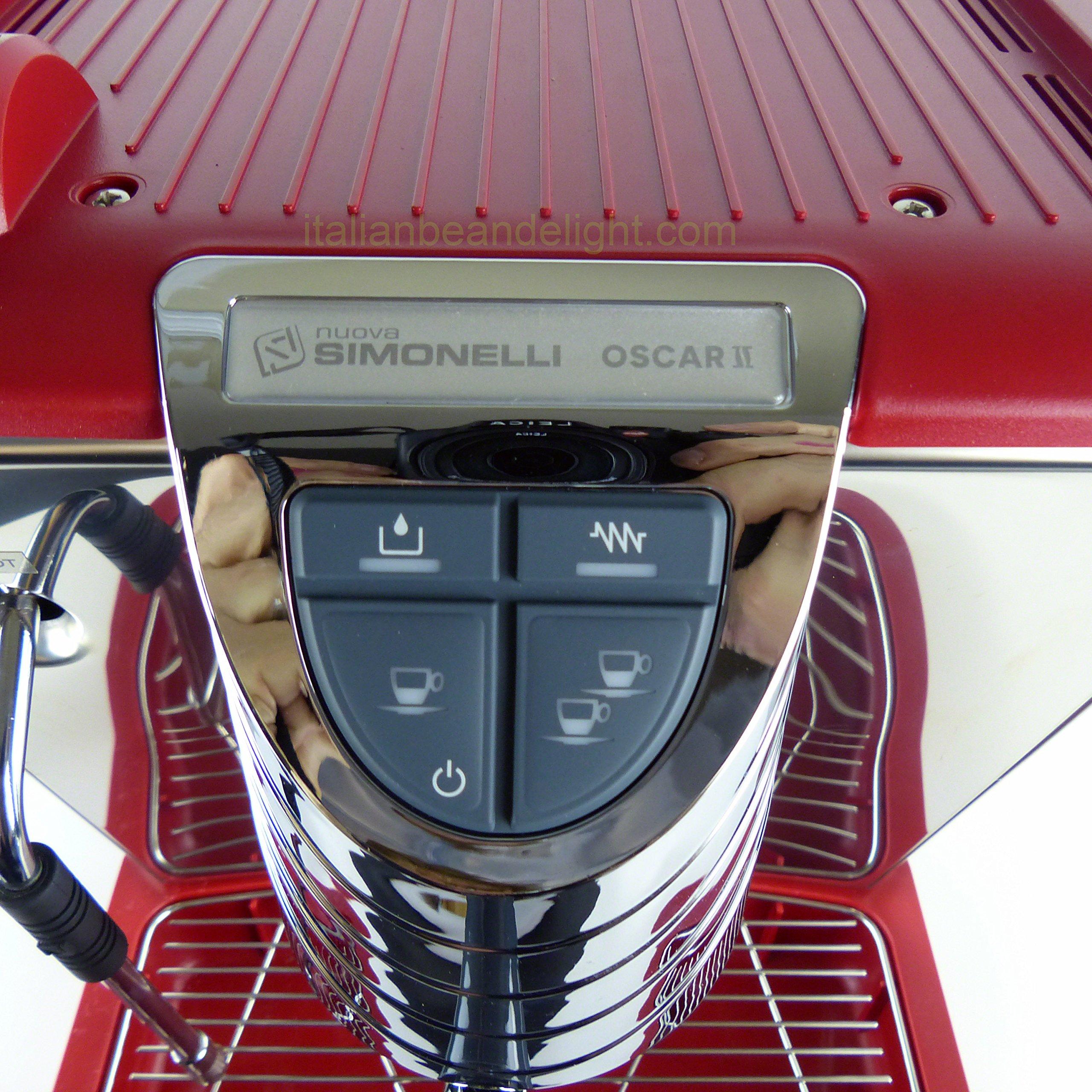 Nuova Simonelli Oscar Pour Over Starter Kit (red)