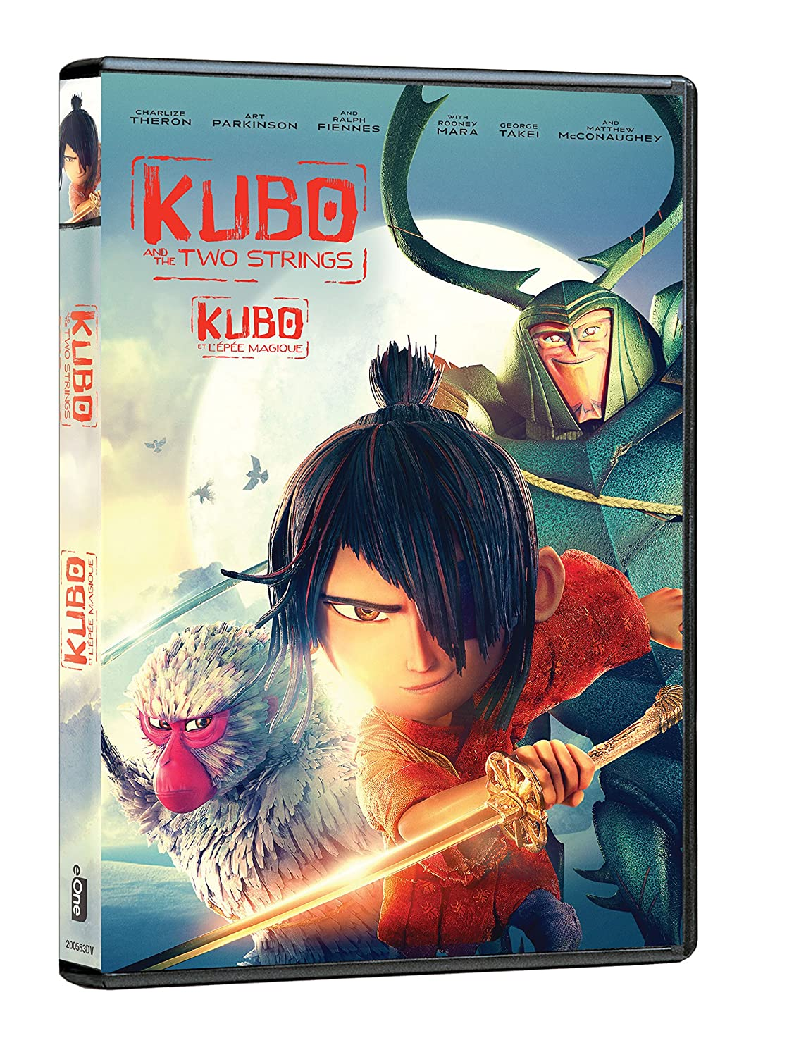 Kubo and the Two Strings (Bilingual) Matthew McConaughey Charlize Theron Rooney Mara Ralph Fiennes