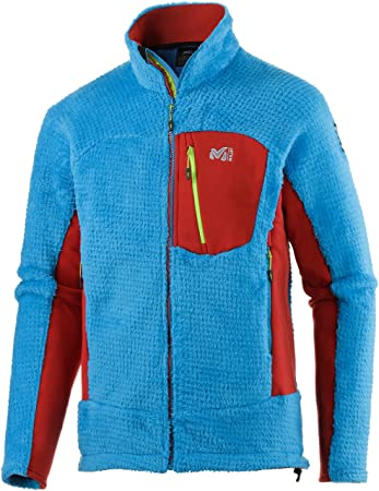the best attitude 50836 f3484 Millet Men's Fleece Jacket, blue / red, XXL: Amazon.co.uk ...