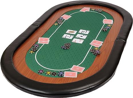Riverboat Gaming Champion Tablero de póquer Plegable - Mesa de ...