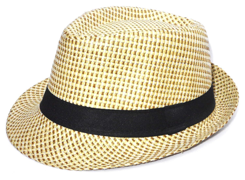 Alvaro castagnino Men Fedora Hats (Cream)  Amazon.in  Clothing   Accessories f36c83b72539