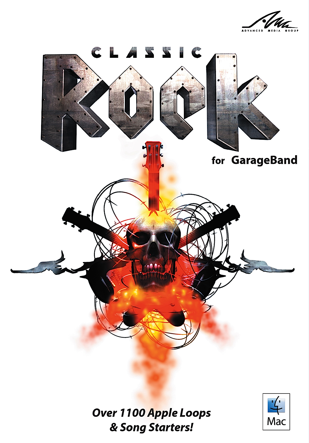 Rock Classic Garageband - Rock for GarageBand - Over 1100 Classic Rock Loops for Apple's GarageBand & Logic [Download]