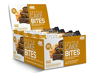 Amazon Com Optimum Nutrition Protein Cake Bites Whipped Protein