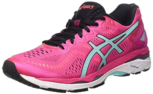 Asics Gel-Kayano 23 W, Zapatillas de Running para Mujer, (Sport Pink/Aruba Blue/Flash Coral), 36 EU: Amazon.es: Zapatos y complementos