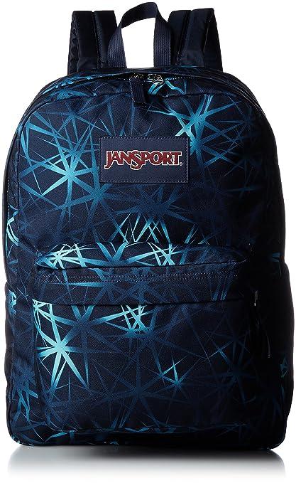 89d69bf2ef6 JanSport Unisex SuperBreak Janpsort Navy Night Sky Backpack: Amazon ...