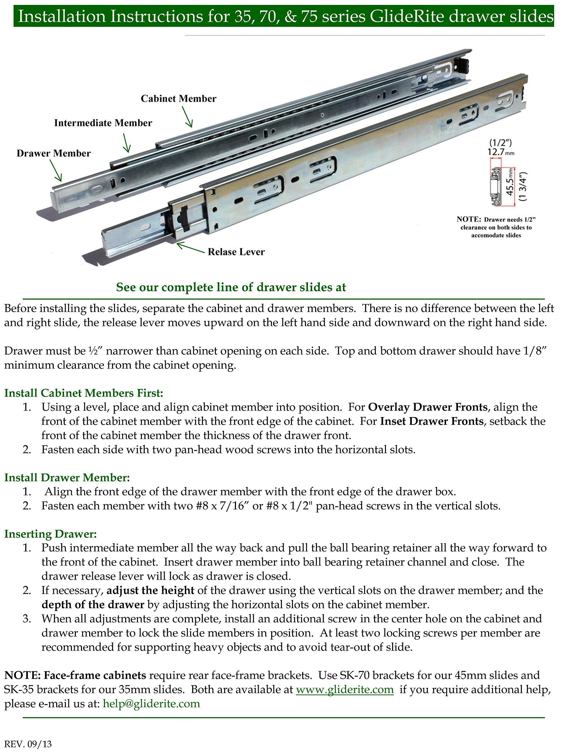 GlideRite Hardware 4058-PC-100 4 inch steel Door Hinges 0.625 inch Radius Polished Chrome Finish 100 Pack by GlideRite Hardware (Image #5)