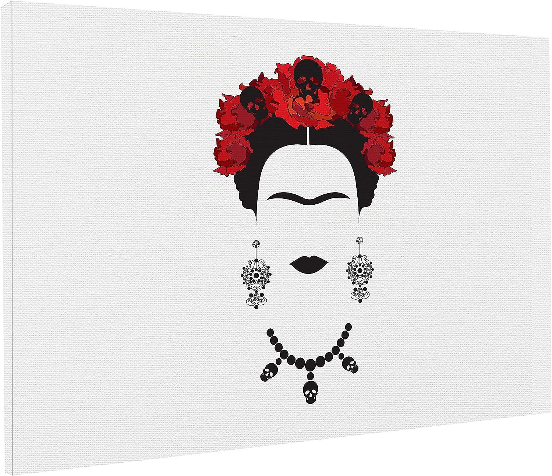 REITANO GROUP Lienzo artístico de Frida Kahlo Feminismo Revolution, 50 x 70 cm, Cuadro de Cuadro de Madera, T187: Amazon.es: Juguetes y juegos